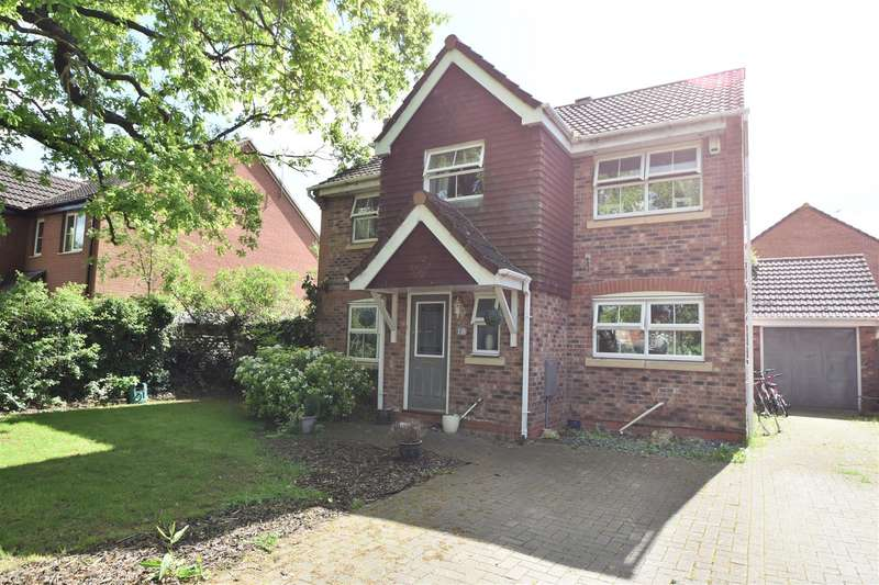 4 Bedrooms Detached House for sale in Lister Avenue, Worcester