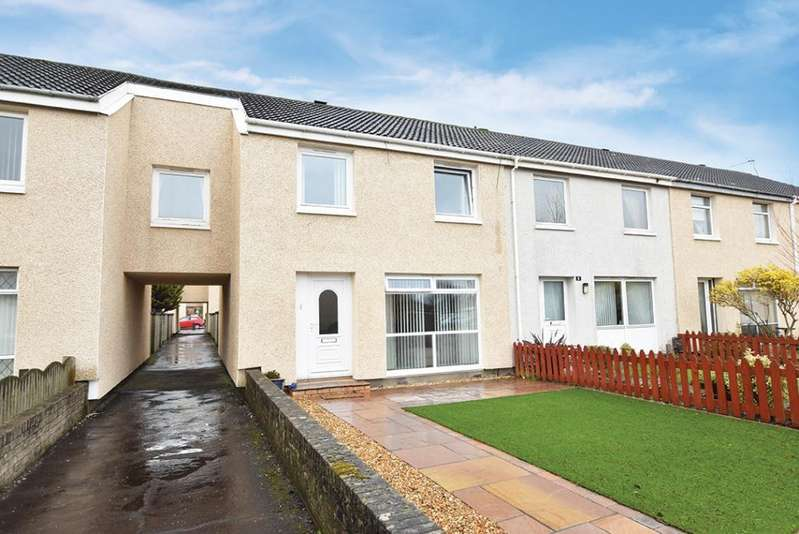 4 Bedrooms Terraced House for sale in 4 Maple Grove, Troon, KA10 6QW