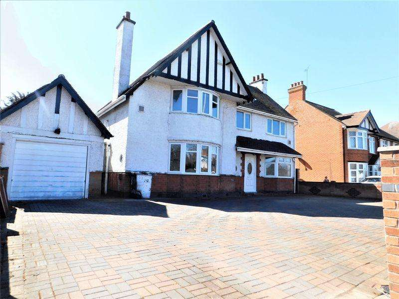 5 Bedrooms Detached House for sale in Scraptoft Lane, Leicester