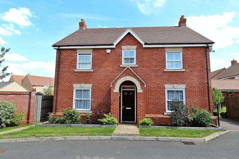 4 Bedrooms Detached House for sale in Exmoor Avenue, Biggleswade