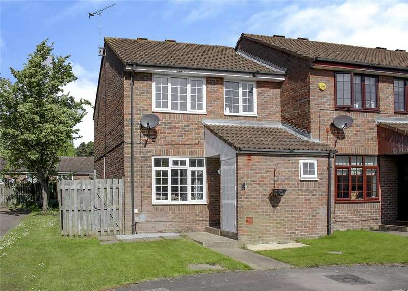 3 Bedrooms End Of Terrace House for sale in Warwick, Bracknell, Berkshire, RG12