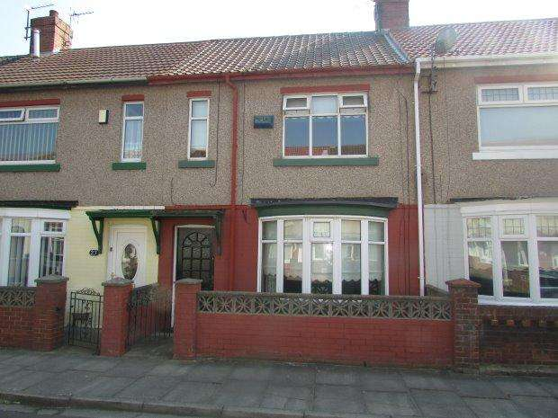 2 Bedrooms Terraced House for sale in SPRING GARDEN ROAD, STOCKTON ROAD, HARTLEPOOL