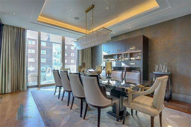 3 Bedrooms Penthouse Flat for sale in Ebury square