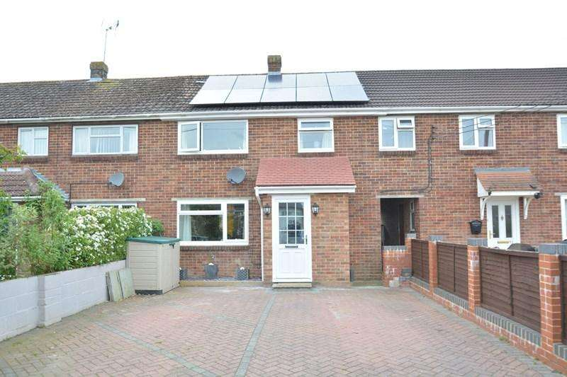 3 Bedrooms Terraced House for sale in Parkhouse Road, Shipton Bellinger, Tidworth