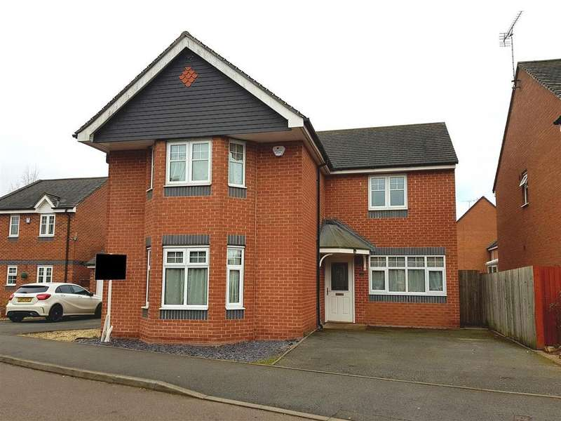 4 Bedrooms Detached House for sale in Avon Way, Hilton, Derby