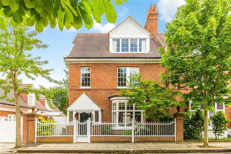 6 Bedrooms Detached House for sale in Marlborough Crescent, Bedford Park, London, W4