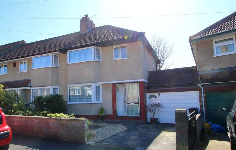 3 Bedrooms Semi Detached House for sale in Beckington Road, Knowle, Bristol, BS3