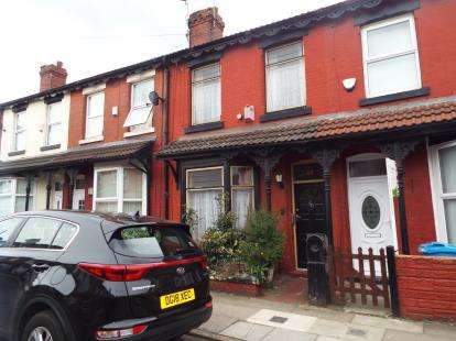 3 Bedrooms Terraced House for sale in Leinster Road, Liverpool, England, Merseyside, L13