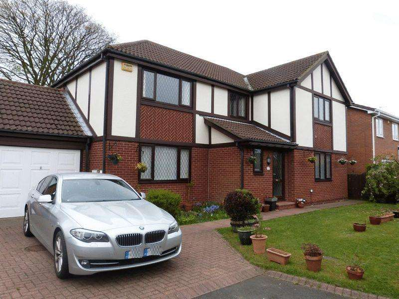4 Bedrooms Detached House for sale in Wansbeck Mews, Ashington, Four Bedroom Detached House