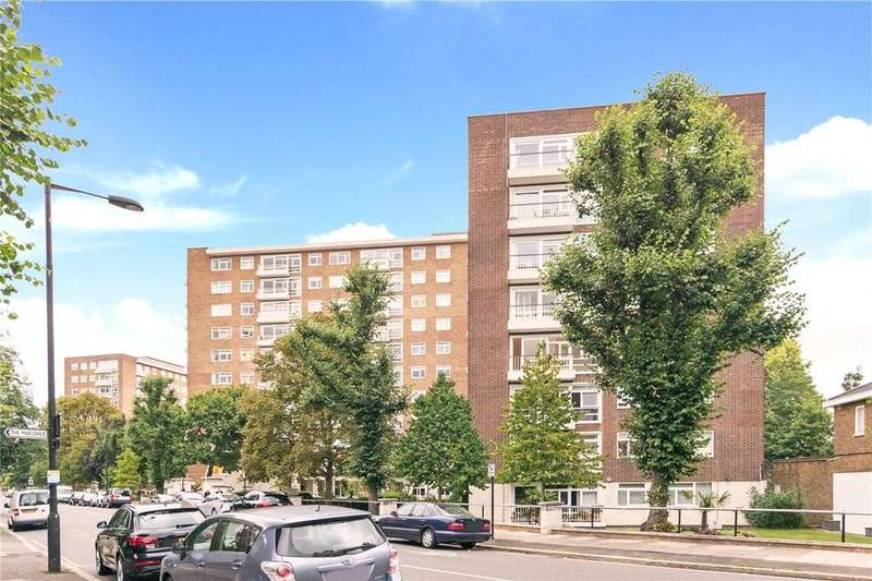 2 Bedrooms Flat for sale in Walsingham, Queensmead, St John's Wood Park, London, NW8