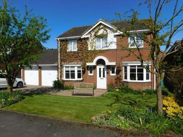 4 Bedrooms Detached House for sale in TELFORD CLOSE, HIGH SHINCLIFFE, DURHAM CITY