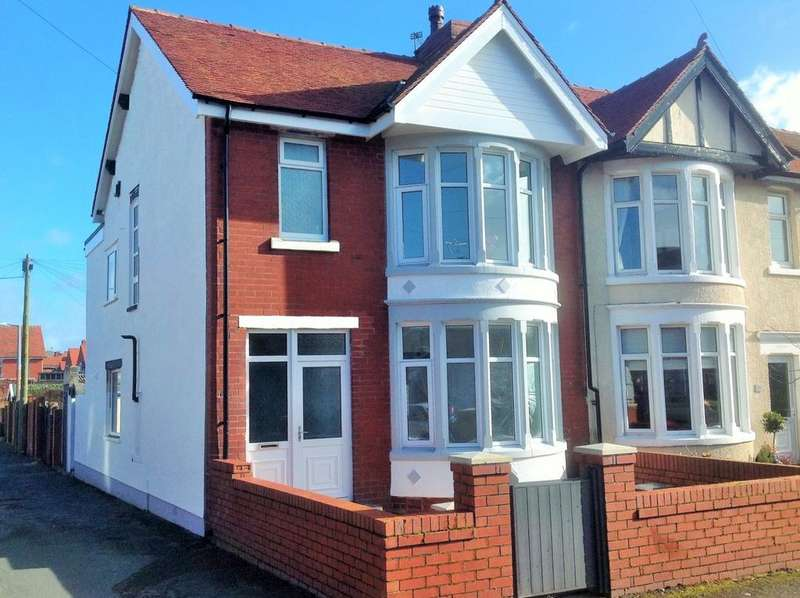 3 Bedrooms Semi Detached House for sale in Lowther Avenue Fleetwood