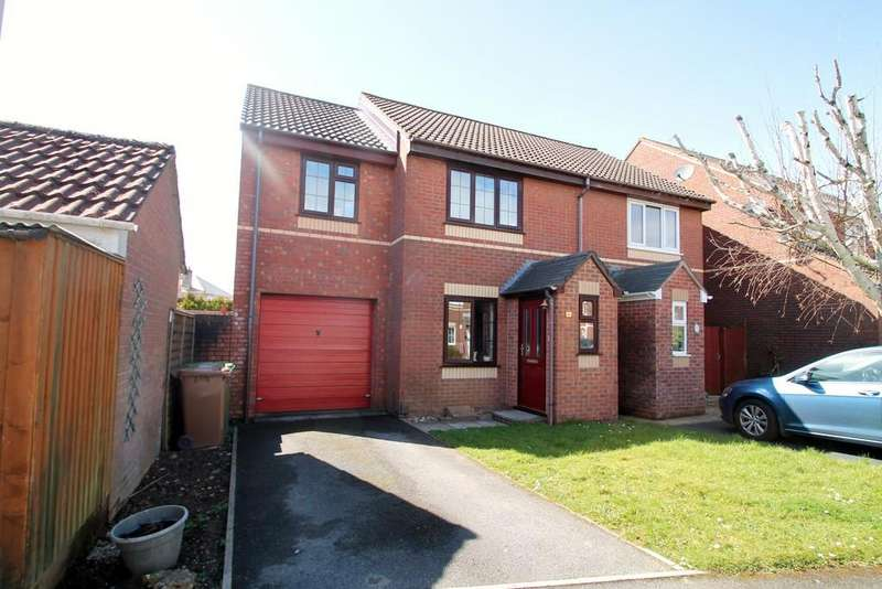 3 Bedrooms Semi Detached House for sale in Trewithy Court, Crownhill, Plymouth