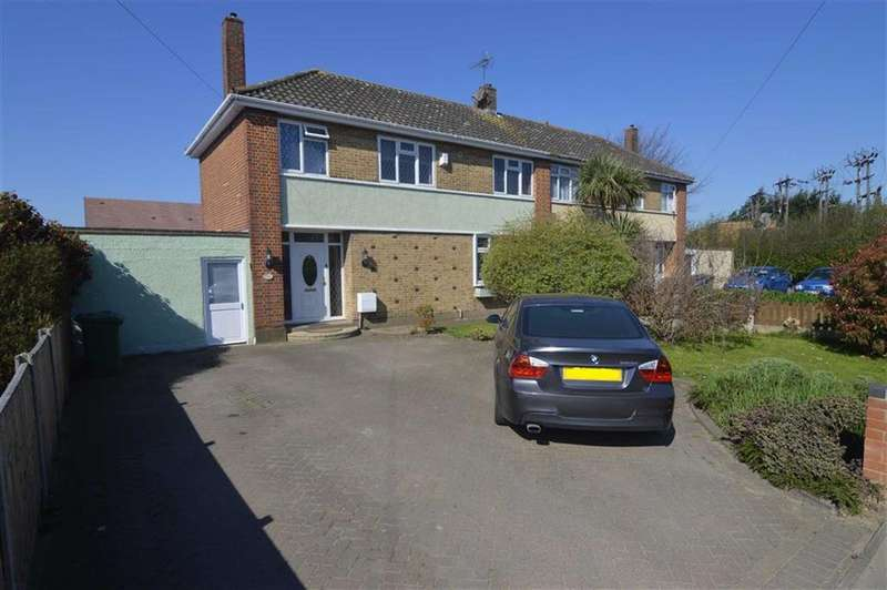 3 Bedrooms Semi Detached House for sale in Princess Margaret Road, East Tilbury, Essex