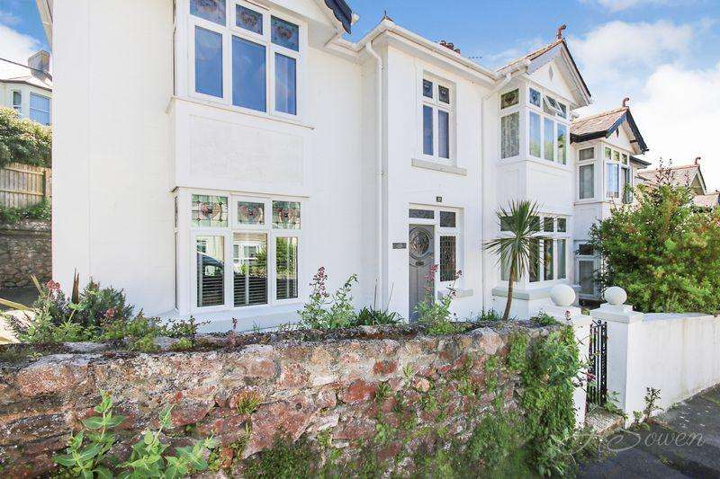 4 Bedrooms Semi Detached House for sale in Lower Shirburn Road, Torquay