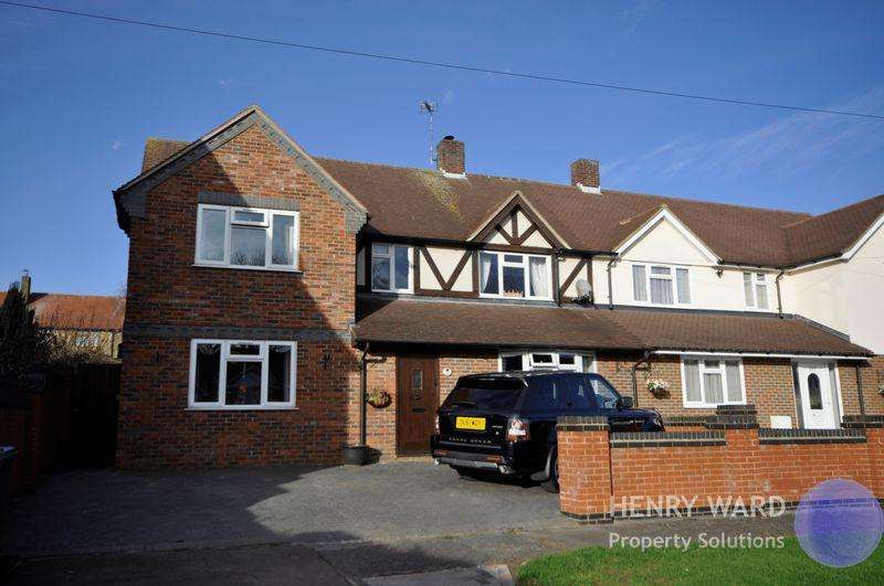 4 Bedrooms Semi Detached House for sale in Monkswood Avenue, Waltham Abbey
