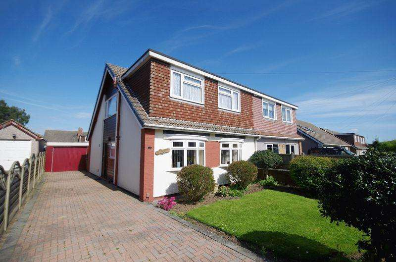 4 Bedrooms Semi Detached House for sale in Fairford Crescent, Stoke Lodge, Bristol