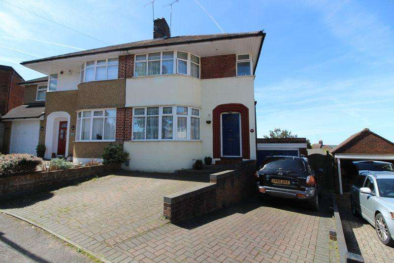 3 Bedrooms Semi Detached House for sale in Sought after cul-de-sac location, Felstead Close, Stopsley