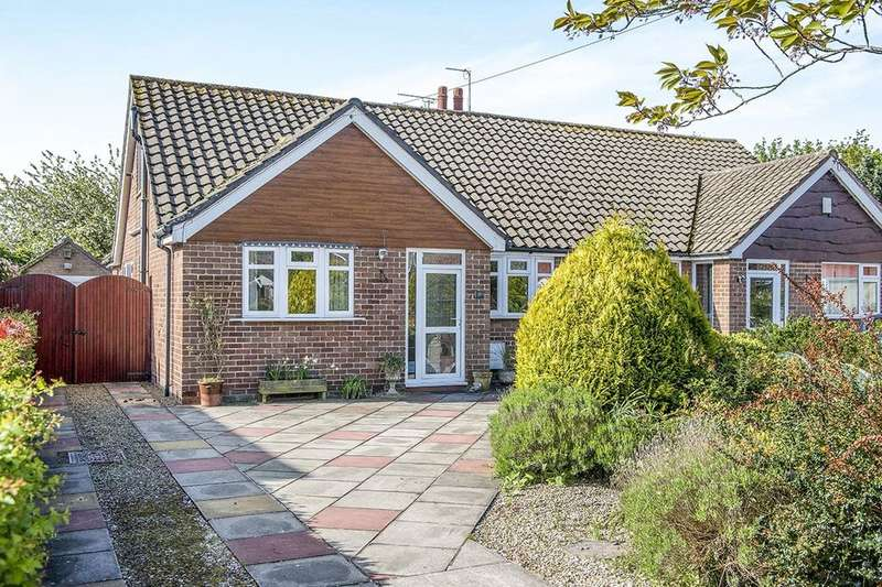 3 Bedrooms Semi Detached Bungalow for sale in Argarmeols Road, Formby, Liverpool, L37