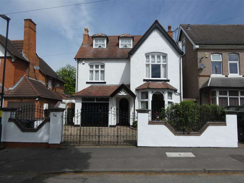 5 Bedrooms Detached House for sale in Vicarage Road, Yardley, Birmingham