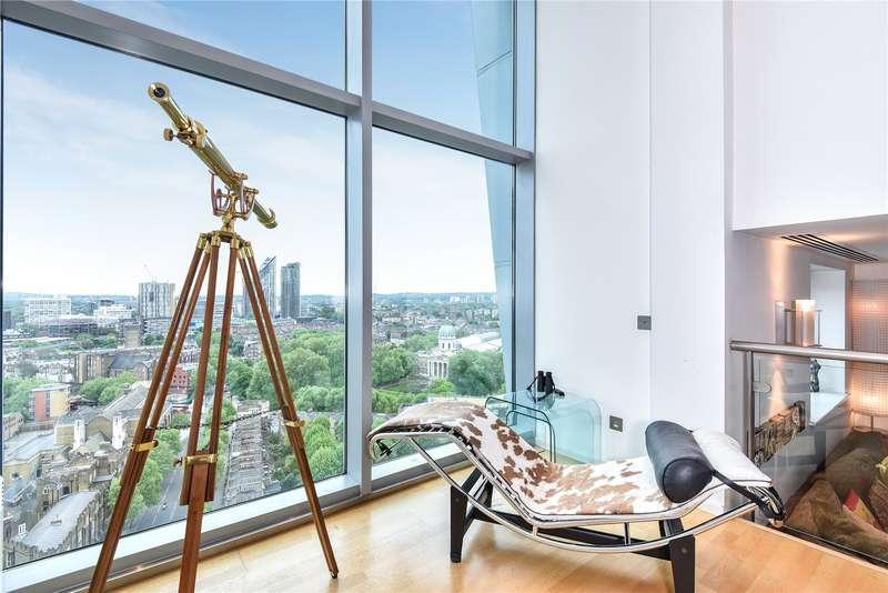 3 Bedrooms Apartment Flat for sale in Perspective Building, 100 Westminster Bridge Road, Waterloo, SE1