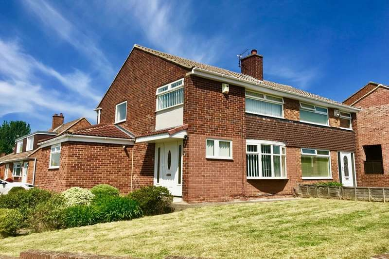 3 Bedrooms Semi Detached House for sale in Oakenshaw Drive, Acklam , Middlesbrough, TS5