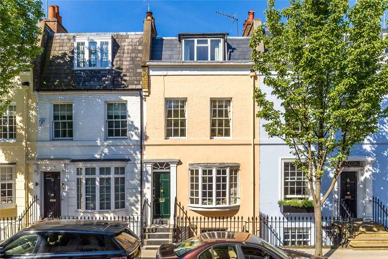 3 Bedrooms House for sale in Markham Street, Chelsea, London, SW3