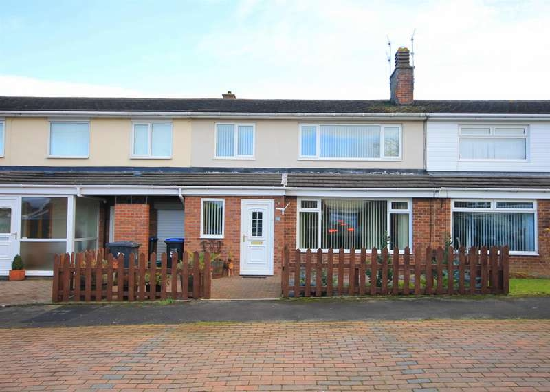 3 Bedrooms Terraced House for sale in Finchale Avenue, Brasside, Durham