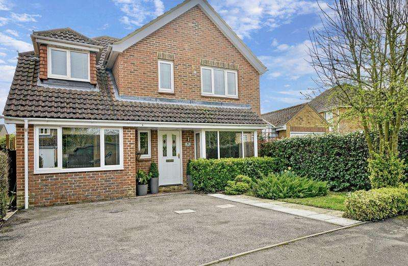 4 Bedrooms Detached House for sale in Coulson Way, Alconbury, Huntingdon, Cambridgeshire.
