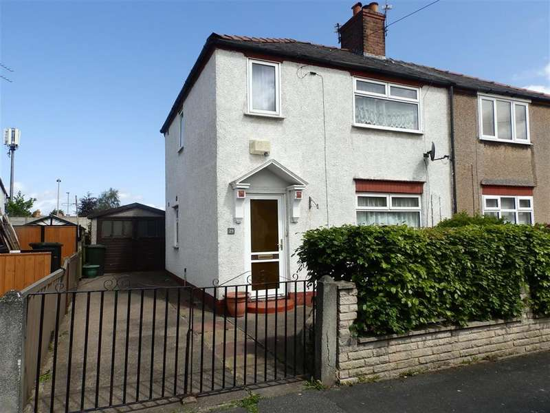 3 Bedrooms Semi Detached House for sale in Hawthorn Road, Little Sutton , Cheshire, CH66 1PR