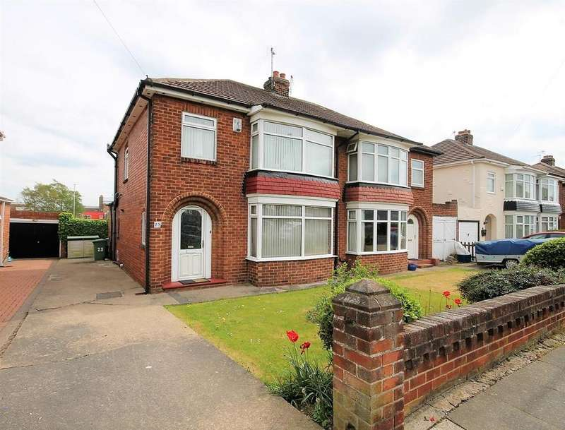 3 Bedrooms Semi Detached House for sale in Clarendon Road, Thornaby, Stockton-On-Tees