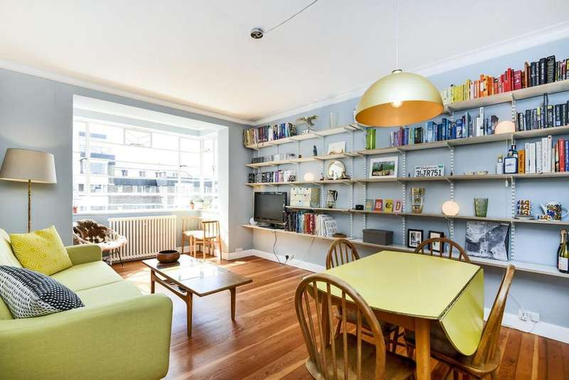 2 Bedrooms Flat for sale in Nightingale Lane, Clapham South