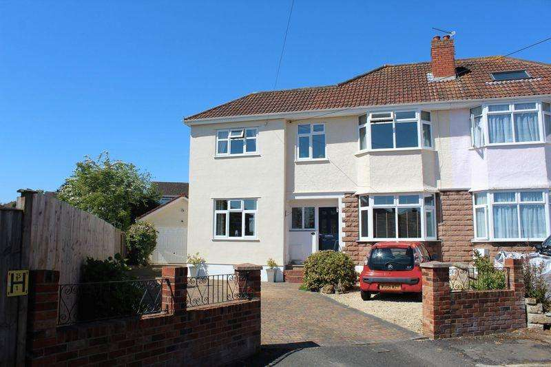 5 Bedrooms Semi Detached House for sale in Ranscombe Avenue, Weston-Super-Mare