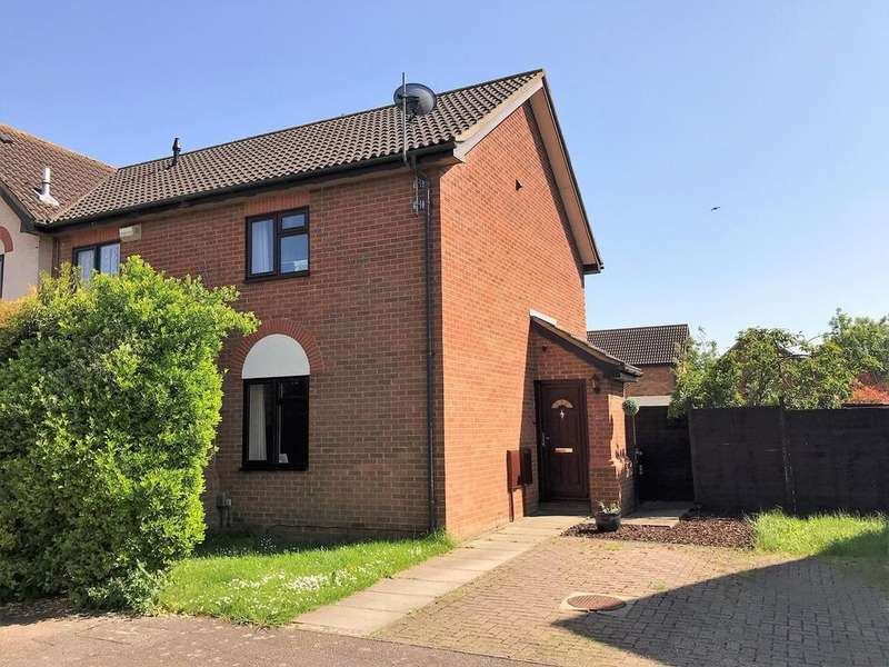 2 Bedrooms End Of Terrace House for sale in Ramerick Gardens, Arlesey, SG15