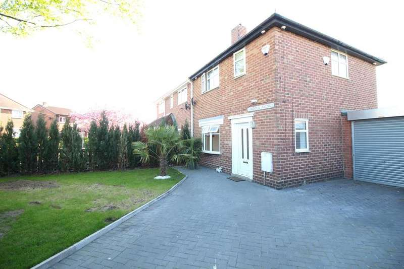 2 Bedrooms Semi Detached House for sale in Norfolk Avenue, Birtley, Chester Le Street