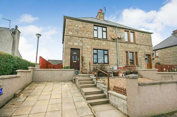 3 Bedrooms Semi Detached House for sale in Castle Park Road, Huntly, Aberdeenshire