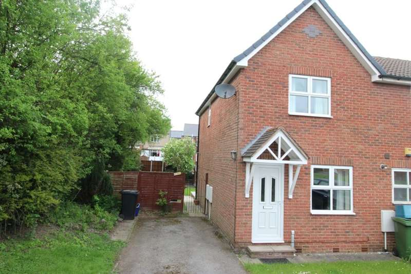 2 Bedrooms Terraced House for sale in Blackthorn Close, Hasland, Chesterfield, S41