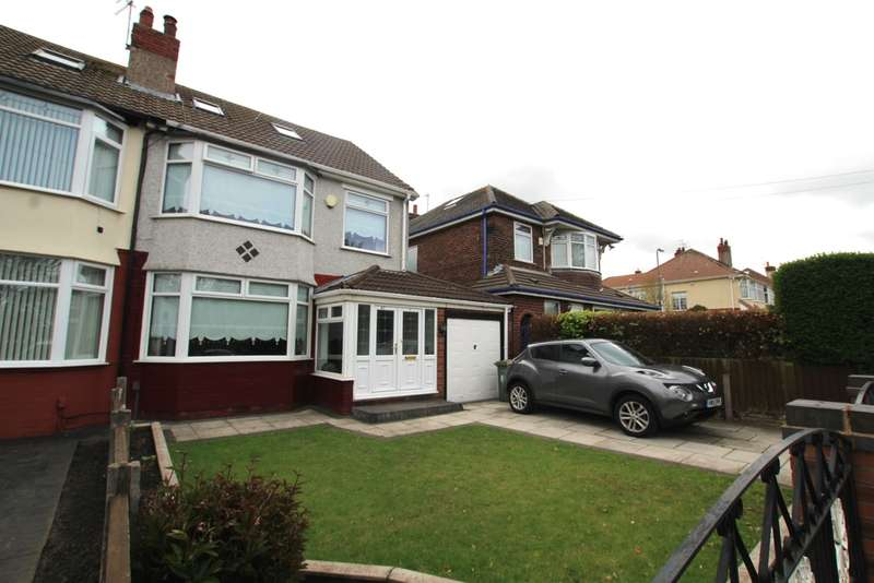 4 Bedrooms Semi Detached House for sale in Fernhill Road, Bootle, L20