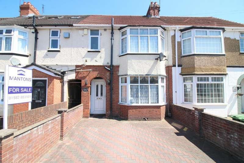 3 Bedrooms Terraced House for sale in Beechwood Road, Luton, Bedfordshire, LU4 9RD