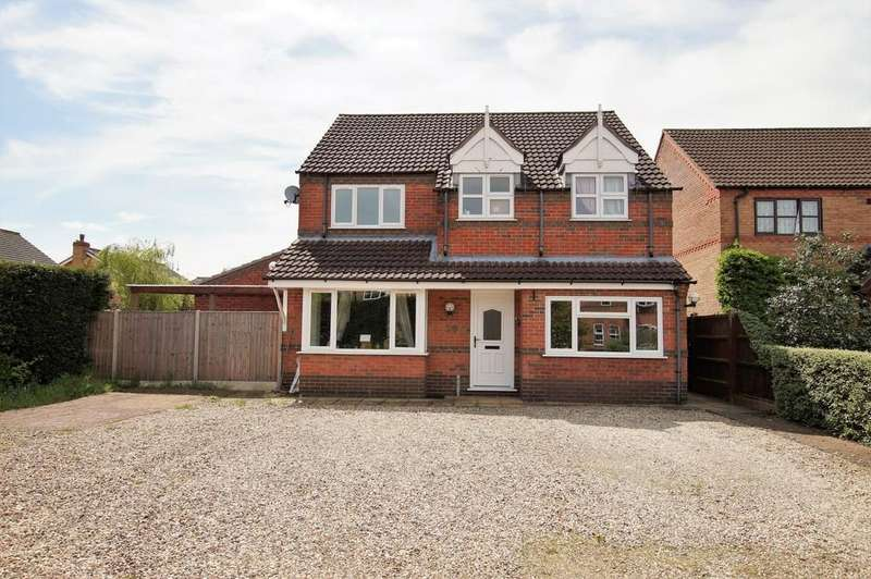 4 Bedrooms Detached House for sale in Brooklands Way, Lincoln