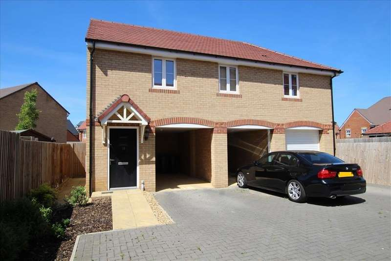 2 Bedrooms Coach House Flat for sale in Chamberlain Park, Biggleswade, SG18