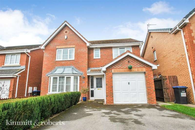 4 Bedrooms Detached House for sale in Abbeydale Gardens, South Hetton, Co Durham, DH6