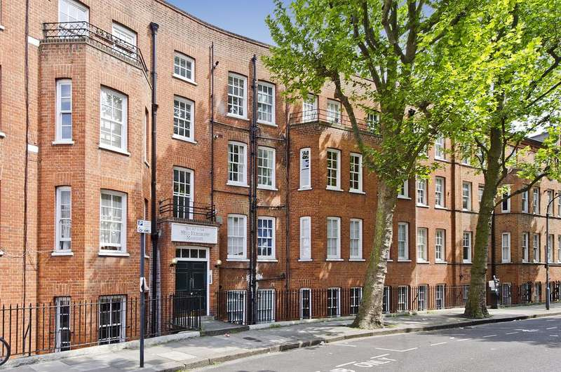 2 Bedrooms Flat for sale in West Kensington Mansions, Beaumont Crescent, London