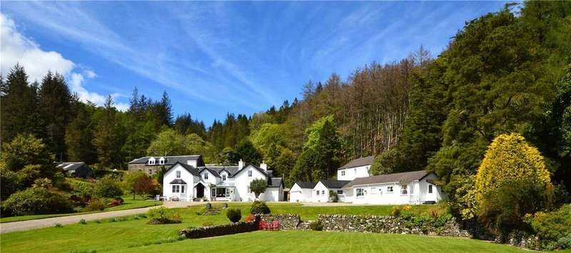 8 Bedrooms Detached House for sale in Tiroran House Woodland Cottage, Tiroran, Isle of Mull, PA69