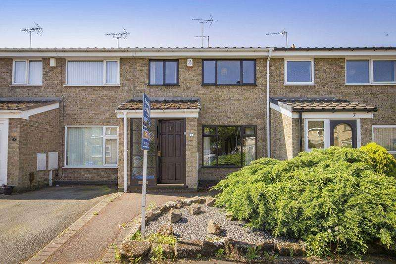 3 Bedrooms Terraced House for sale in ALWARDS CLOSE, ALVASTON