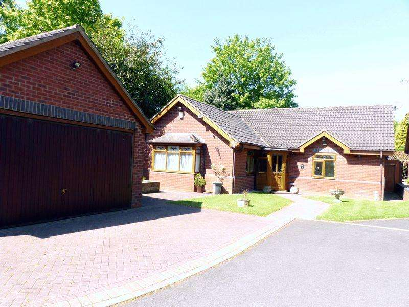 3 Bedrooms Detached Bungalow for sale in Courtenay Gardens, Great Barr