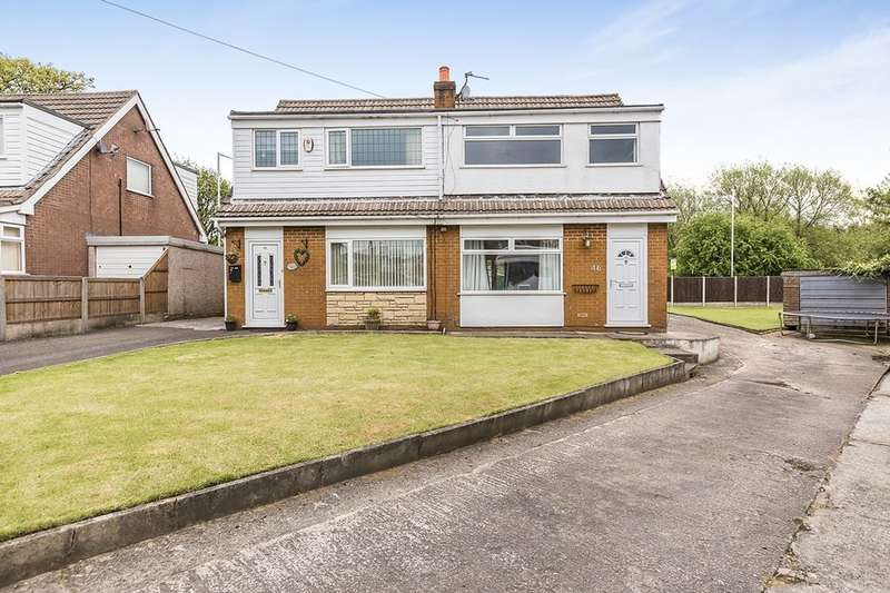 3 Bedrooms Semi Detached House for sale in Lowther Crescent, LEYLAND, PR26