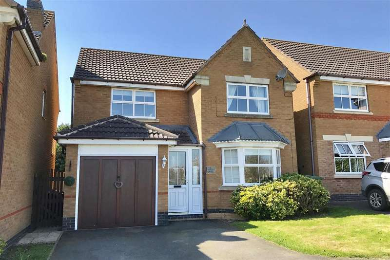 4 Bedrooms Property for sale in Anemone Close, Melton Mowbray