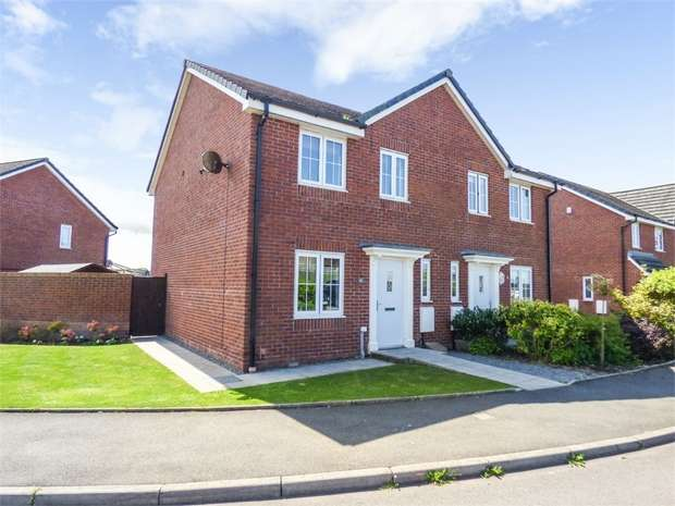 3 Bedrooms Semi Detached House for sale in Weavers Avenue, Frizington, Cumbria