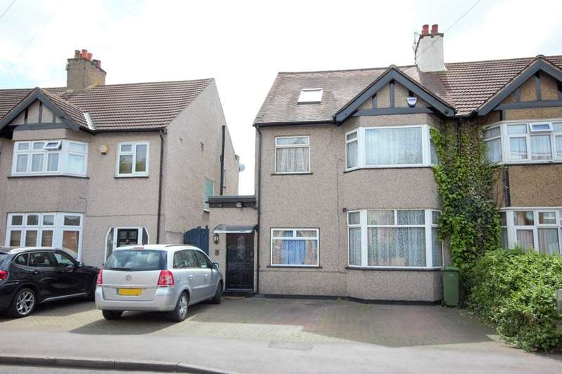 4 Bedrooms Semi Detached House for sale in Mill Lane, Chadwell Heath, Romford, RM6